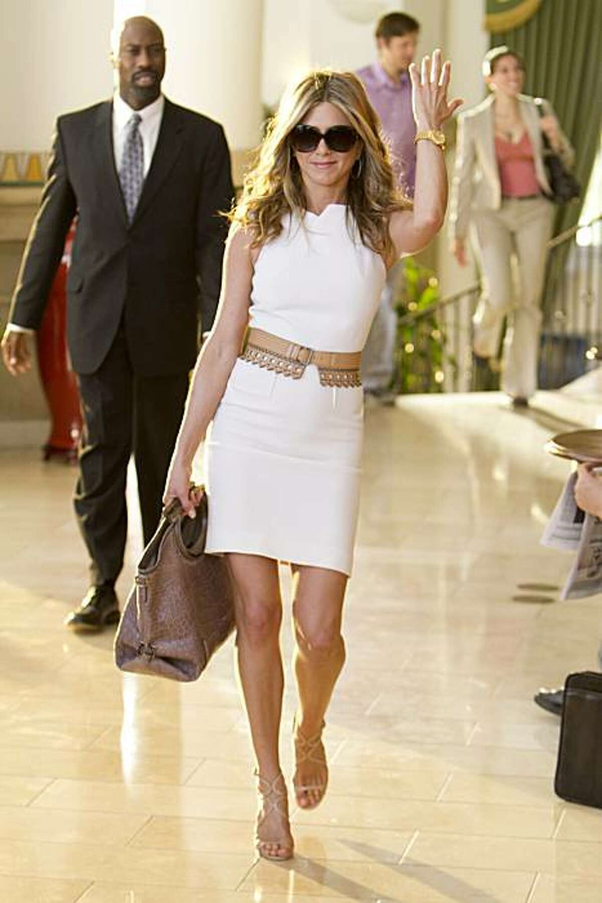 Jennifer Aniston stars in Columbia Pictures' comedy JUST GO WITH IT.