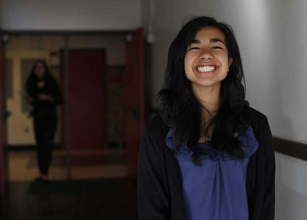 Ananya Bhatia-Lin, 16, who is talking 4 different Advance Placement classes this year, stands for a portrait at Berkeley High School on on Wednesday Feb. 9, 2011 in Berkeley, Calif. California ranks among the best states in country in Advanced Placement participation and pass rates on AP testing. Photo: Mike Kepka, The Chronicle