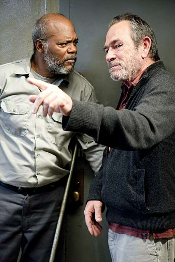 "In this publicity image released by HBO, Tommy Lee Jones, right, and Samuel L. Jackson are shown in a scene from ""The Sunset Limited,"" drawn from the 2006 play of the same name by Pulitzer-prize-winning author Cormac McCarthy. The film will premiere Saturday, Feb. 12, 2011 at 9:00 p.m. EST on HBO. Photo: Dawn Jones, AP"