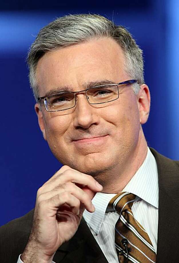 "BEVERLY HILLS, CA - JULY 21:  (FILE PHOTO) Co-host Keith Olbermann of ""Sunday Night Football"" speaks during the NBC Universal portion of the Television Critics Association Press Tour held at the Beverly Hilton hotel on July 21, 2008 in Beverly Hills, California. Keith Olbermann, who departed the prime time show he hosted on MSNBC in January, announced on February 8, 2011 that he will host a prime time program on Current TV, a cable channel co-founded by Al Gore. Photo: Frederick M. Brown, Getty Images"