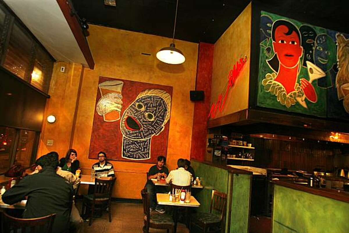 The interior of Blake's on Telegraph Ave. in Berkeley in 2007.