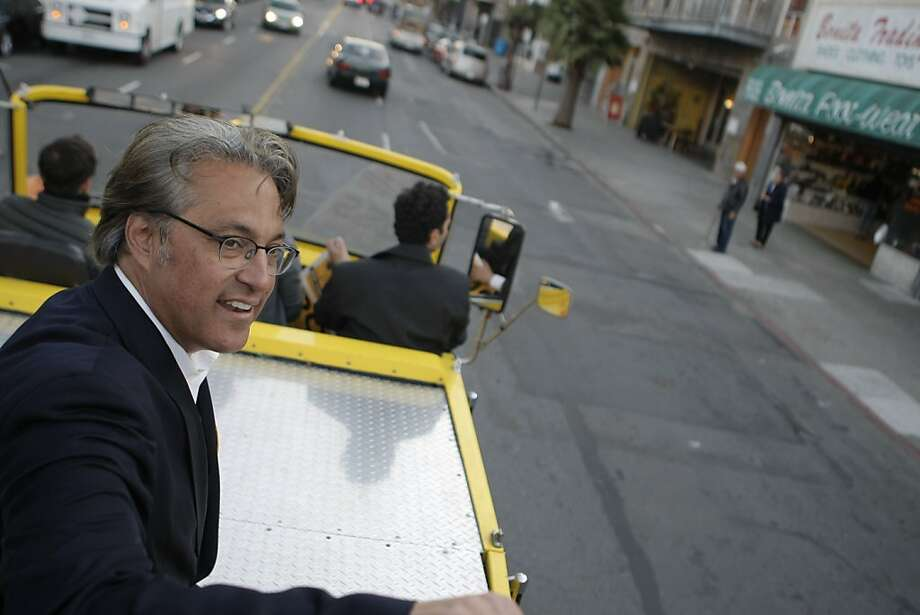 Ross Mirkarimi campaigns for Sheriff of San Francisco, Calif., on Monday Nov. 7, 2011. Photo: Dylan Entelis, The Chronicle