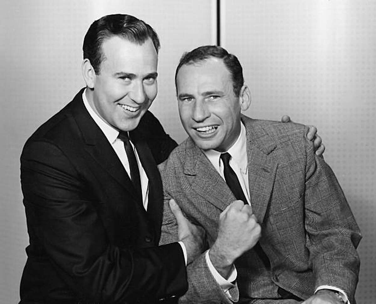 Carl Reiner (left) and Mel Brooks,