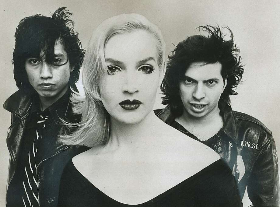miro.jpg 03/30/1977- Jennifer Miro, of the band The Nuns, is seen with band members Alejandro Escovedo and Jeff Olener.   /Publicity Photo Photo: Courtesy Of The Nuns