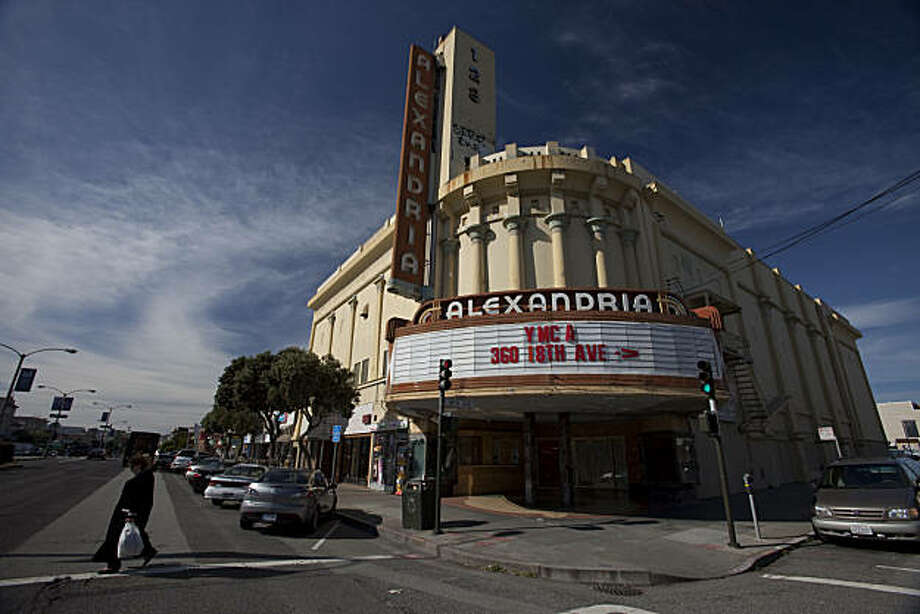 The Alexandria Theater sits empty on the corner of Geary and 18th Avenue on February 3, 2011 in San Francisco, Calif.  Photograph by David Paul Morris/Special to the Chronicle Photo: David Paul Morris, Special To The Chronicle