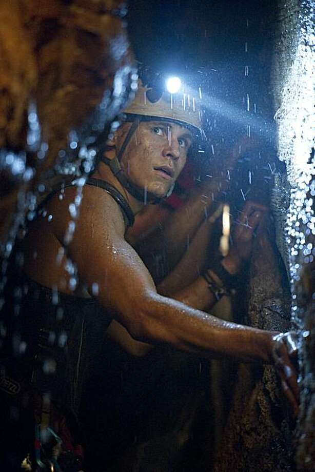 "Josh McGuire (RHYS WAKEFIELD) in the 3D action-thriller ""Sanctum"", from executive producer James Cameron. The film follows a team of underwater cave divers on a treacherous expedition to the largest, most beautiful and least accessible cave system on Earth. Photo: Jasin Boland, Universal Pictures"