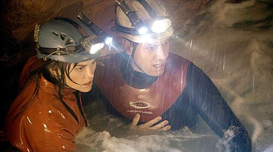 """""""Sanctum""""–This breathtaking thriller follows the adventures of diver Frank McGuire, who heads an expedition to map a network of underwater caverns. When a tropical storm cuts off their exit, the team must use all their resources to find a route to the surface.Available Now! Photo: Universal Pictures"""