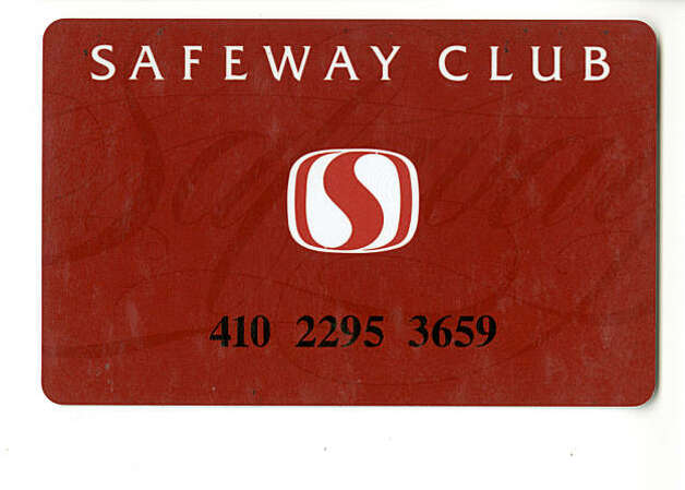 Safeway Club Card Photo: N/a, N/A