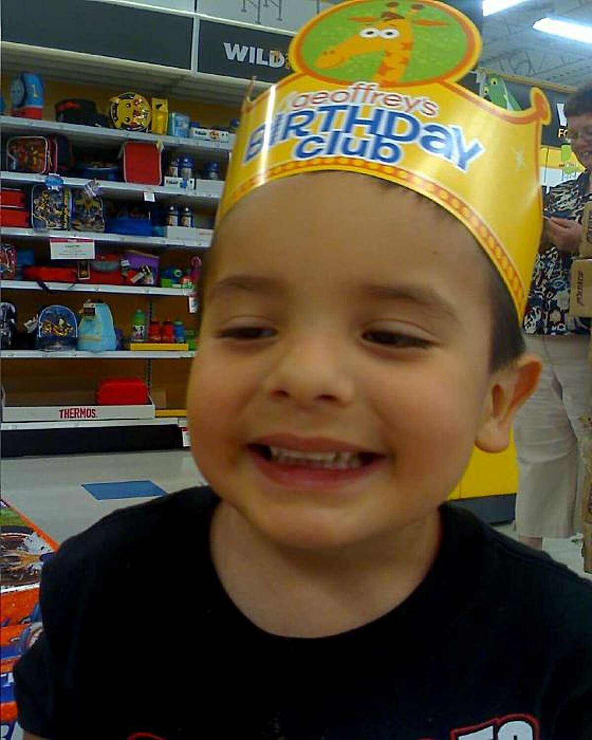 Four-year-old Juliani Cardenas, kidnapped from his grandmother's arms in the Stanislaus County town of Patterson on Jan. 18, 2011.