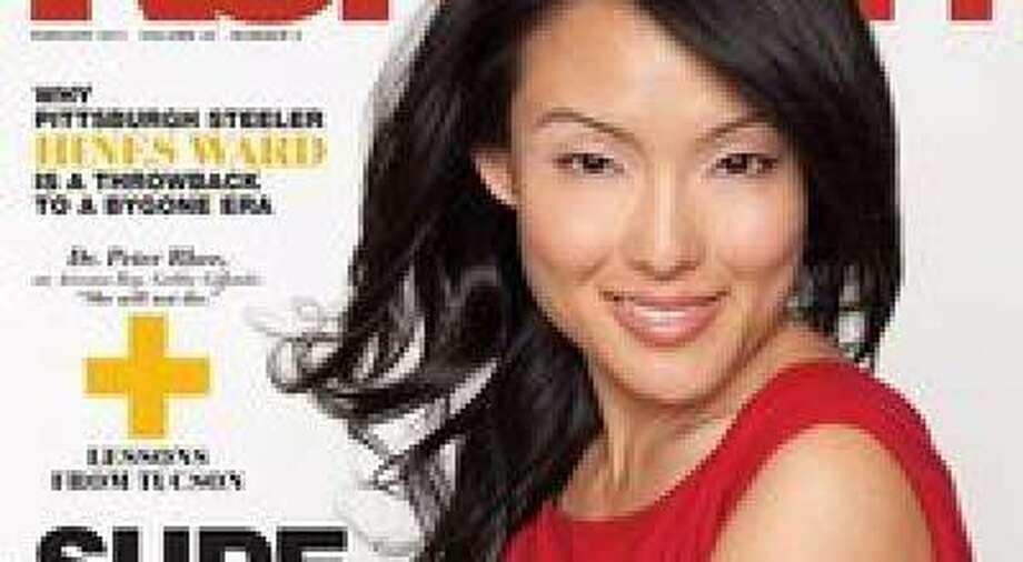 Cover Girl Jane Kim. Photo: Courtesy Of KoreAm