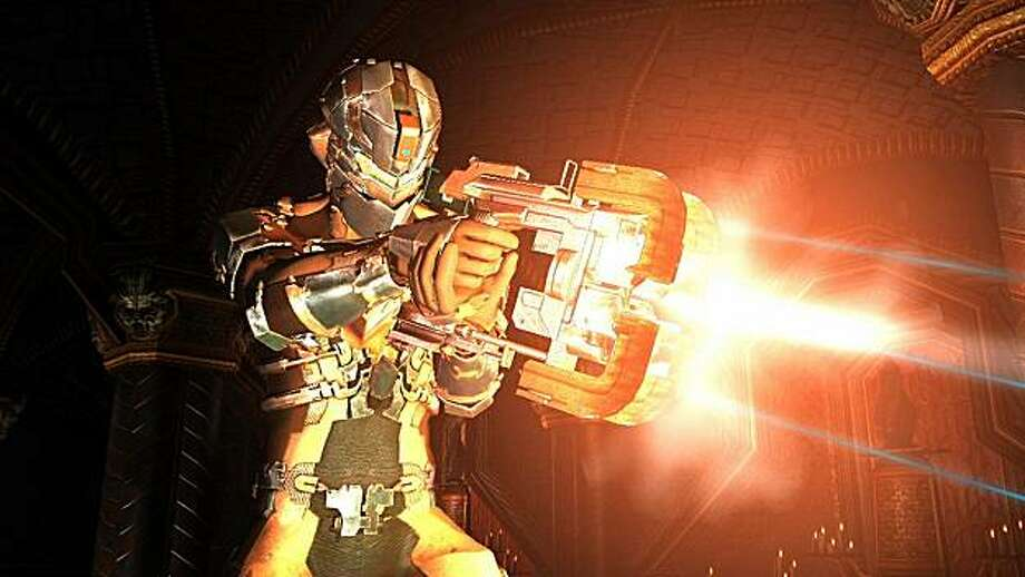 Engineer Isaac Clarke finds himself trying to escape a mostly abandoned moon base in Dead Space 2. Photo: Electronic Arts
