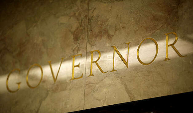 "A  gold lettered, ""Governor"" above the entrance into the offices of Governor Jerry Brown, at the State Capital building in Sacramento, Ca. on Friday Jan. 28, 2011. Photo: Michael Macor, The Chronicle"