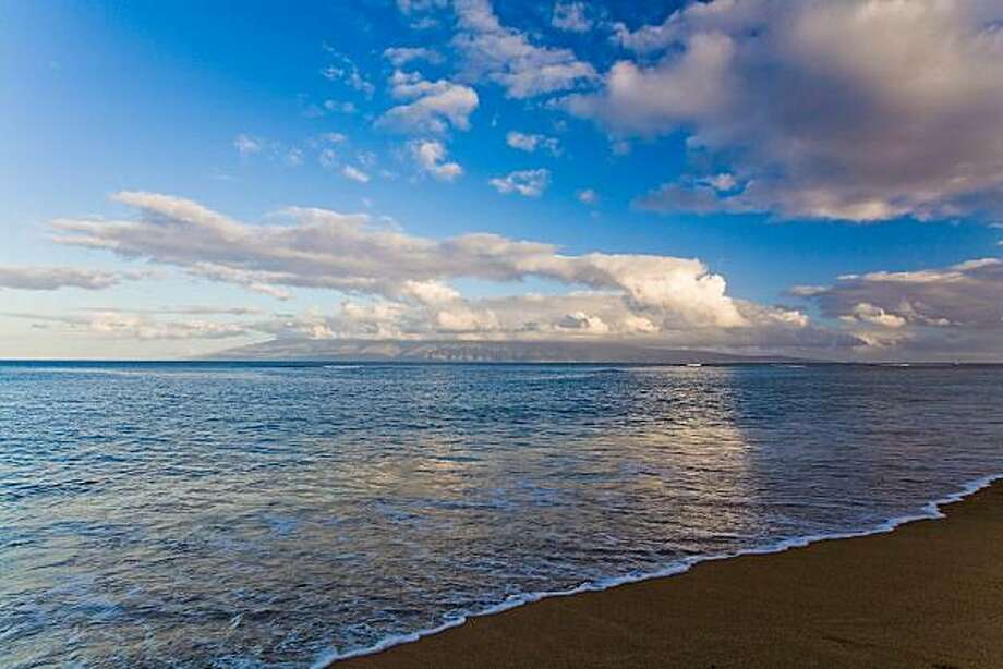 "Maui: The beaches of Lahaina, including the shallow waters of ""Baby Beach"" (Pu'unoa), have enticing views of Lana'i. Photo: Tor Johnson"