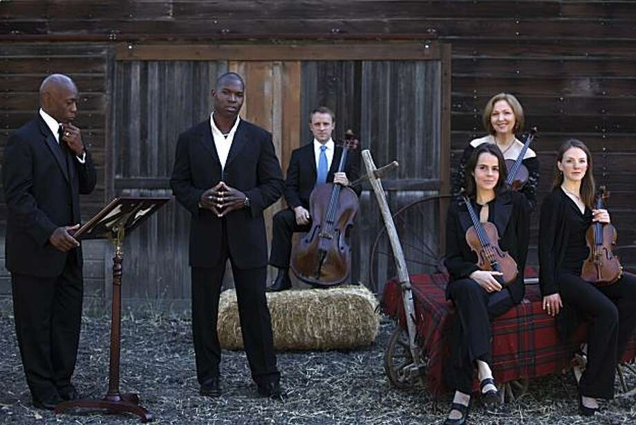 America?s Got Talent singing sensation, bass baritone Lawrence Beamen, joins the Gold Coast Chamber Players in concert for Lafayette?s first celebration of Black History Month. 2 p.m. Jan. 30, Lafayette Library, 3491 Mount Diablo Blvd., Lafayette. $15-50. (925-284-7404, www.gcplayers.org Photo: Gold Coast Chamber Players