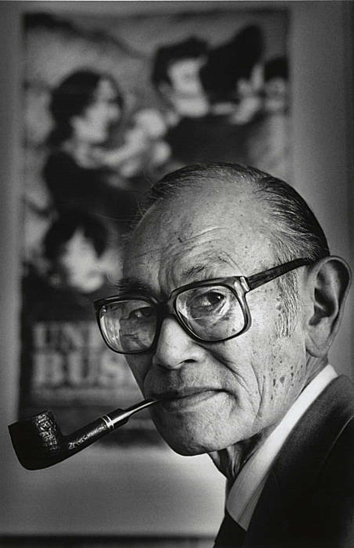Fred Korematsu, successfuly challenged Internment camp orders during World War II. Photo was taken: 04/02/1987.