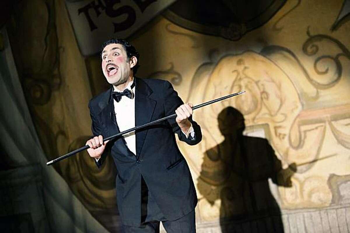 Jake Rodriguez plays a vaudeville headliner in Z Space's world premiere of
