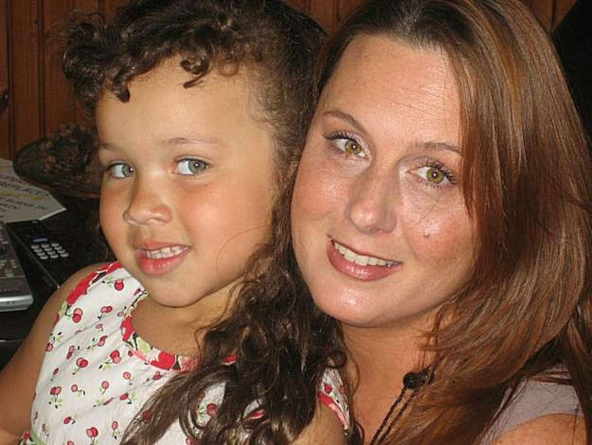 Marin Montgomery, now 5, with her mother Deirdre Wooldridge.