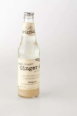 "Bruce Cost's unfiltered ""Fresh Ginger Ale"" as seen in San Francisco, California, on January 12, 2011."