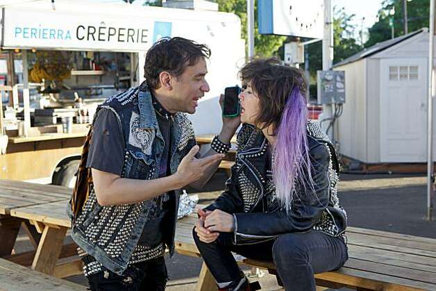 Fred Armisen and Carrie Brownstein star in Portlandia on IFC. Premieres January 21 at 10:30pm. Photo: Scott Green, IFC