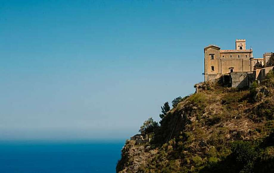 """Chiesa di Santa Lucia, where Michael Corleone marries Apolonia in """"The Godfather"""" movie, in Savoca, Sicily. Photo: Chris Hardy, Special To The Chronicle"""