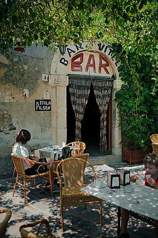 Sicily: Bar Vitello, where Michael Corleone speaks to Appollonia's father. Photo: Chris Hardy, Special To The Chronicle