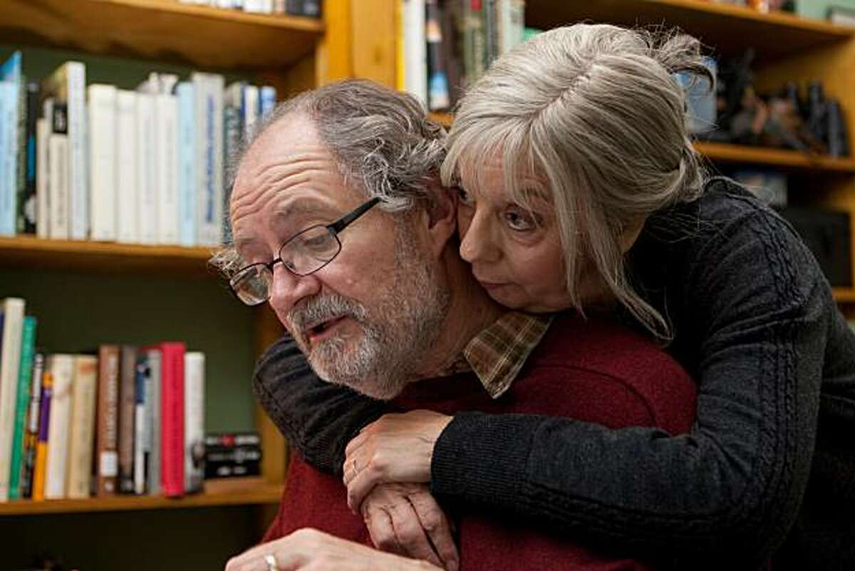 """Jim Broadbent as Tom and Ruth Sheen as Gerri in, """"Another Year."""""""