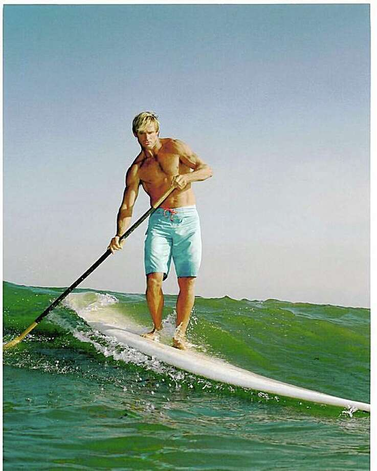 Surfer Laird Hamilton is the face for the relaunch of the Davidoff Cool Water men's fragrance line.