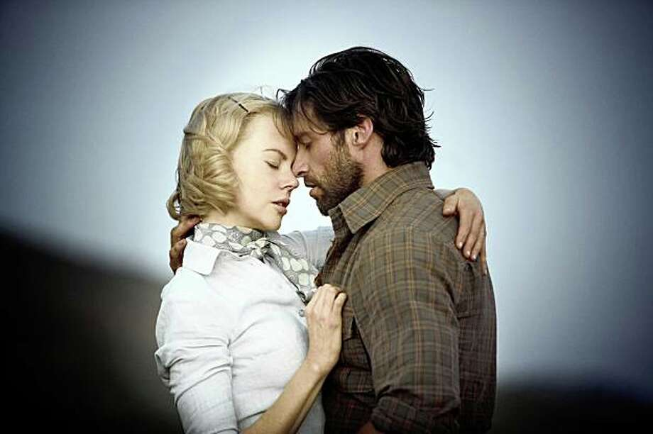 "Hugh Jackman and Nicole Kidman in ""Australia"" 2008. Photo: James Fisher, 20th Century Fox"