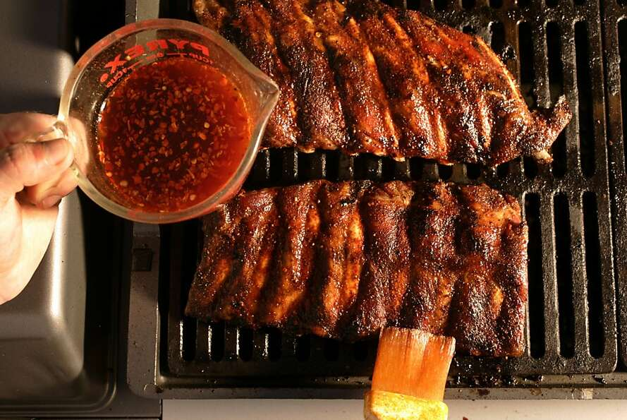 East Carolina ribs