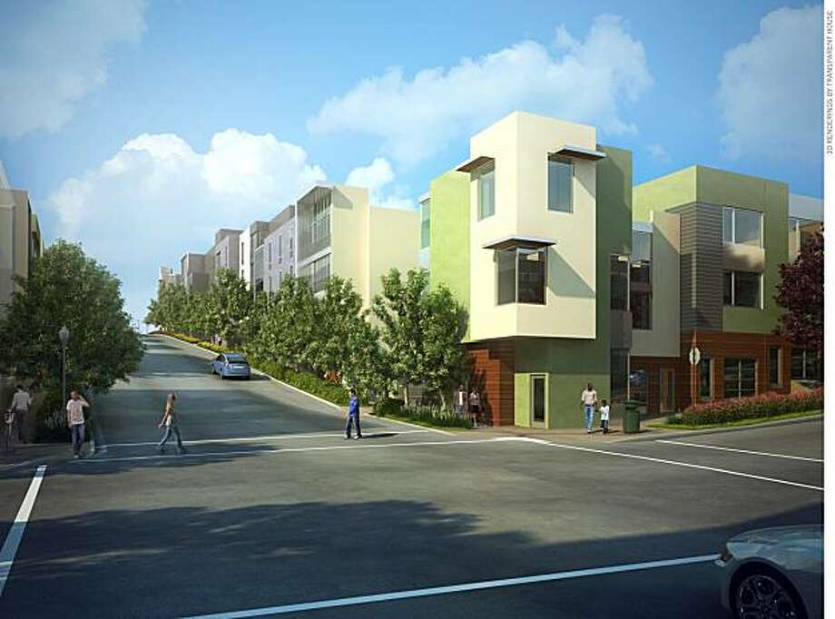 Lennar Corp.'s proposed initial construction at the Hunters Point Shipyard Photo: Lennar Corp.