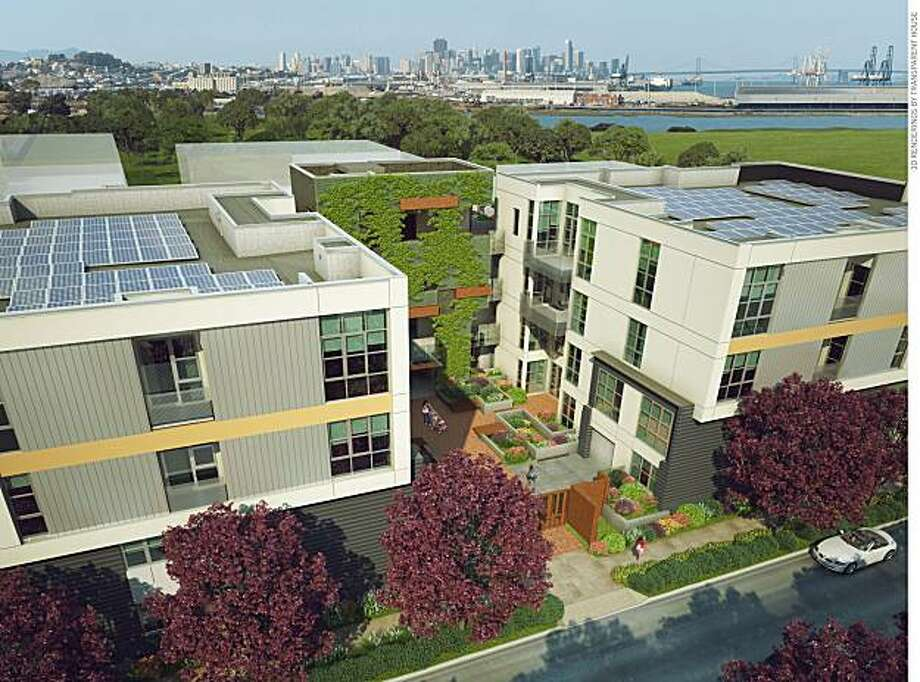 Lennar Corp.'s proposed initial construction at the Hunters Point Shipyard. Photo: Lennar Corp.