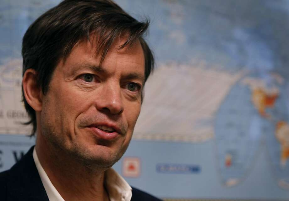 Billionaire Nicolas Berggruen discusses his plans to bankroll a number of government reform initiatives in San Francisco, Calif., on Thursday, Jan. 6, 2011. Photo: Paul Chinn, The Chronicle