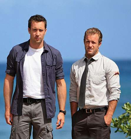"In this TV publlicity image released by CBS, Alex O'Loughlin plays Detective Steve McGarrett, left, and Scott Caan plays Detective Danny ""Danno"" Williams in ""Hawaii Five-O,"" a contemporary take on the classic drama series. Photo: CBS, Mario Perez, AP"