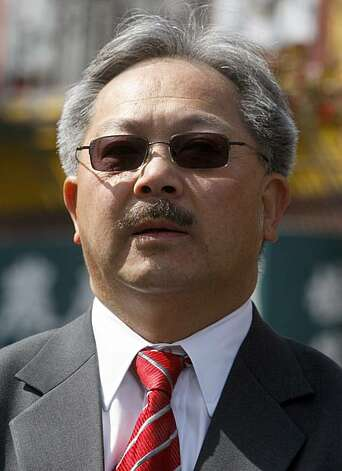 Ed Lee Photo: Paul Chinn, SFC