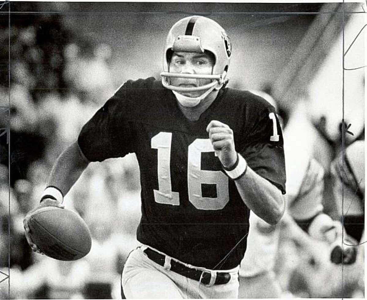 Jim Plunkett, Raiders quarterback