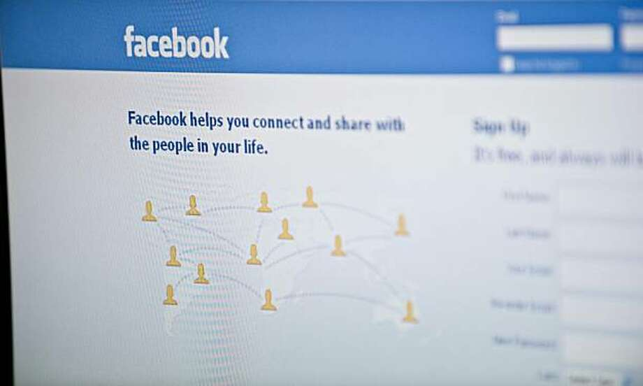 View of the Facebook homepage taken in Washington,DC on January 3, 2011. Social-networking giant Facebook could flex its growing might after reportedly raising 500 million dollars from Goldman Sachs and a Russian firm in a deal valuing the website at 50 billion dollars. Goldman has invested 450 million dollars, and Digital Sky Technologies, a Russian investment firm that has already sunk about half a billion dollars into Facebook, invested 50 million dollars, The New York Times reported Monday, citing sources familiar with the deal. Photo: Nicholas Kamm, AFP/Getty Images