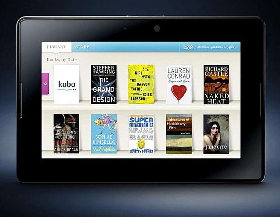 The Kobo eReading application on the Blackberry Playbook.(Photo: Business Wire) Photo: Business Wire
