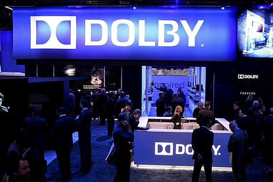 Attendees walk through the   Dolby Laboratories Inc. booth during the 2010 International Consumer Electronics Show (CES) in Las Vegas, Nevada, U.S., on Thursday, Jan. 7, 2010. 20,000 new technologies will debut at CES, which runs through Jan. 11 and is expected to see at least 113,000 attendees and 2,500 exhibitors, the Consumer Electronics Association said. Photographer: Ronda Churchill/Bloomberg Attendees walk through the Dolby Laboratories Inc. booth during the 2010 International Consumer Electronics Show (CES) in Las Vegas, Nevada, U.S., on Thursday, Jan. 7, 2010. 20,000 new technologies will debut at CES, which runs through Jan. 11 and is expected to see at least 113,000 attendees and 2,500 exhibitors, the Consumer Electronics Association said. Photographer: Ronda Churchill/Bloomberg Photo: Ronda Churchill Ronda Churchill, Bloomberg News Bloomberg