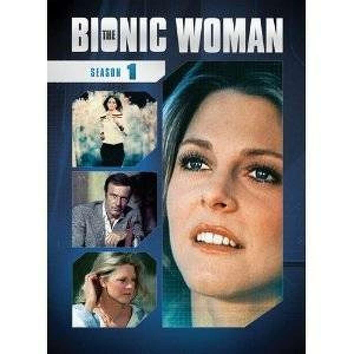 dvd cover THE BIONIC WOMAN: SEASON ONE