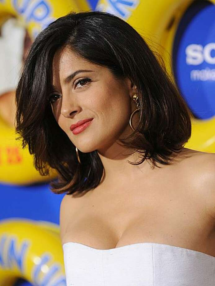 Mexican actress Salma Hayek. Photo: File Photo, Getty Images