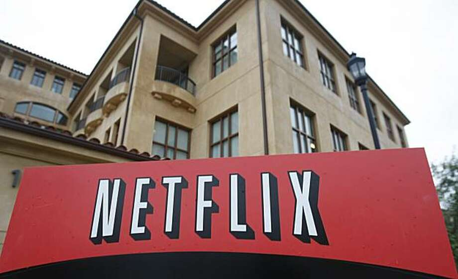 FILE - This Jan. 29, 2010 file photo, shows the company logo and view of Netflix headquarters in Los Gatos, Calif. Netflix Inc. has reached a multiyear agreement Tuesday, Aug. 10, 2010, to stream movies from Paramount, Lionsgate and MGM online starting Sept. 1. It's a major move as Netflix looks to cater to people who want to watch movies instantly. Photo: Marcio Jose Sanchez, AP