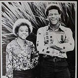 Oakland Tech High School star athlete Rickey Henderson was voted in the senior class poll as having the Best Shape along with classmate Patrica Brimmer (left) in Henderson's senior year in Oakland, Calif.