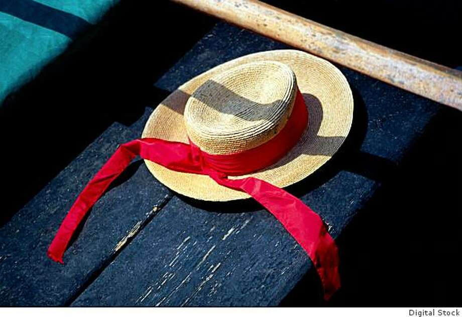 A gondolier's hat in Venice. Photo: Digital Stock
