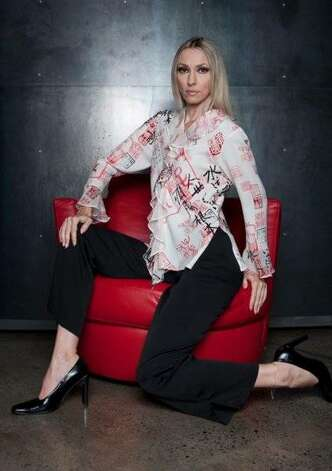 Honolulu designer Anne Namba uses original silk prints for some of her Asian-inspired clothing, such as this tunic top. Photo: Courtesy Anne Namba