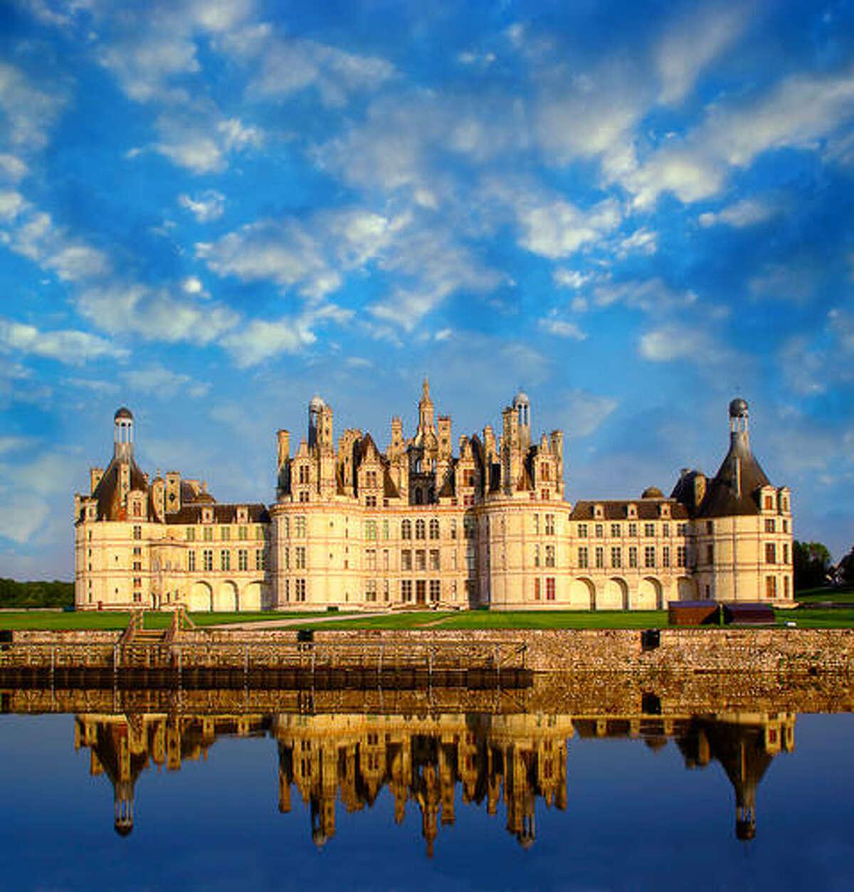 The Ch?teau de Chambord at Chambord. one France's most recognizable castles, is in Loir-et-Cher, France.