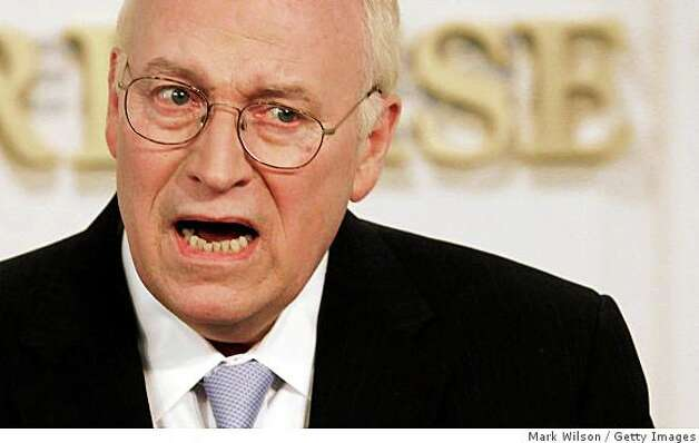 WASHINGTON - MAY 21: Former U.S. Vice President Dick Cheney speaks at the American Enterprise Institute on May 21, 2009 in Washington, DC. Cheney spoke about U.S. policies toward terrorism.  (Photo by Mark Wilson/Getty Images) Photo: Mark Wilson, Getty Images