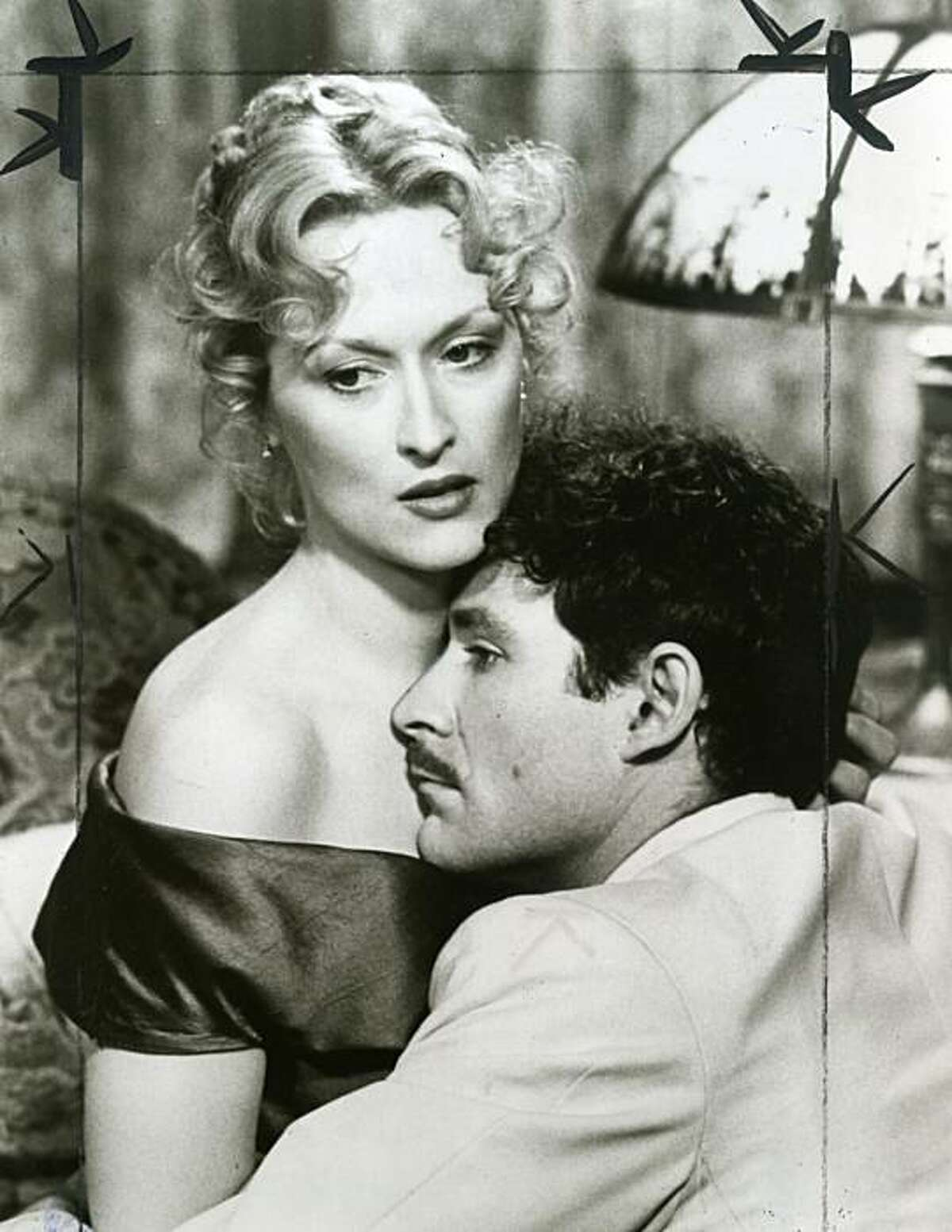 """""""Sophie's Choice"""" Sophie (Meryl Streep) is desperately in love with Nathan (Kevin Kline) a man whose exuberance and caring can suddenly turn bitter and menacing."""