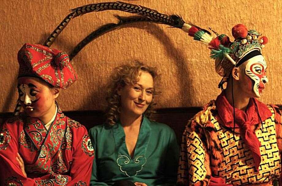 "Meryl Streep in ""Dark Matter"" Photo: First Independent Pictures 2007"
