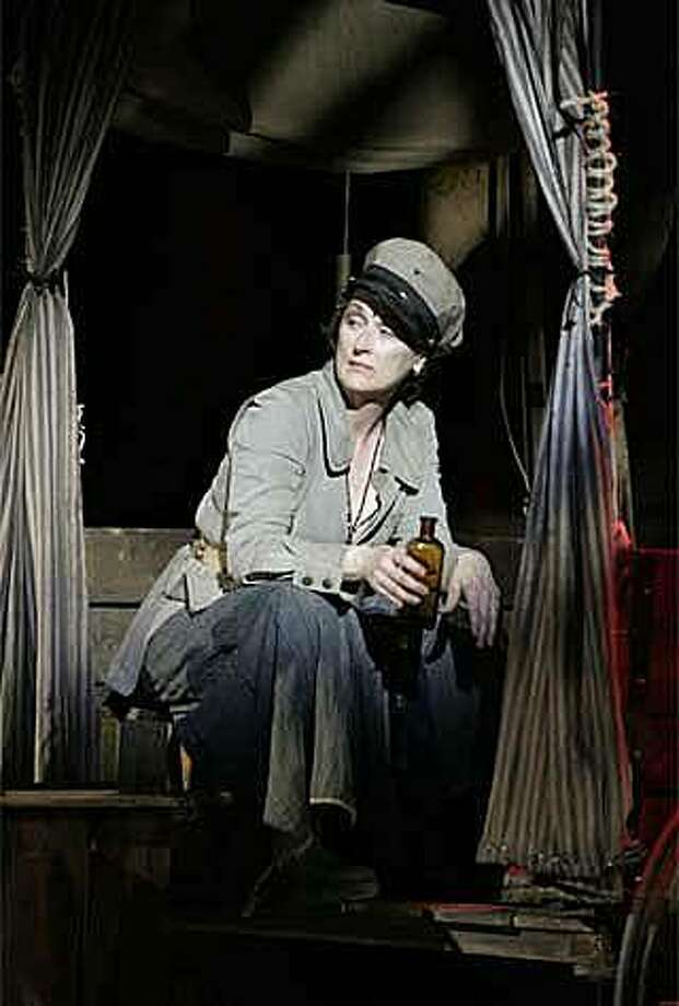Meryl Streep as Mother Courage in THEATER OF WAR. Photo: White Buffalo Entertainment