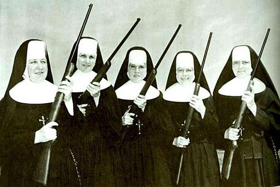 Nuns with guns. Photo: Handout